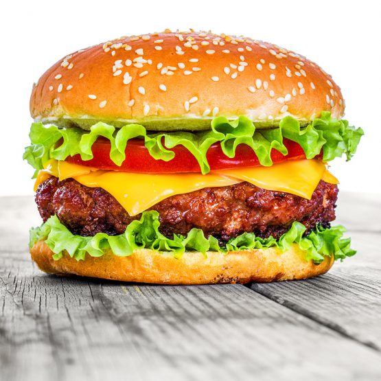 Flame Grilled Beef Burger